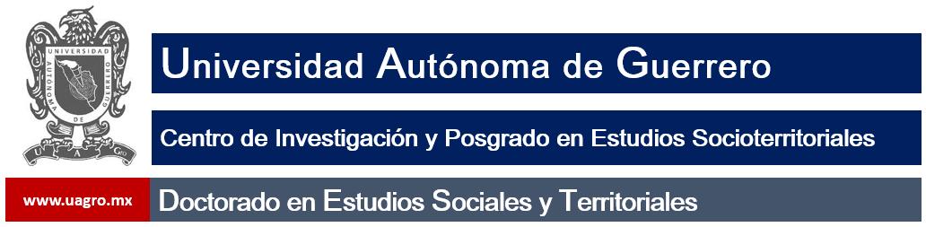 Doctorado en estudios sociales y territoriales
